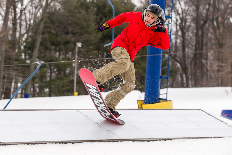 American Heart Association Rail Jam